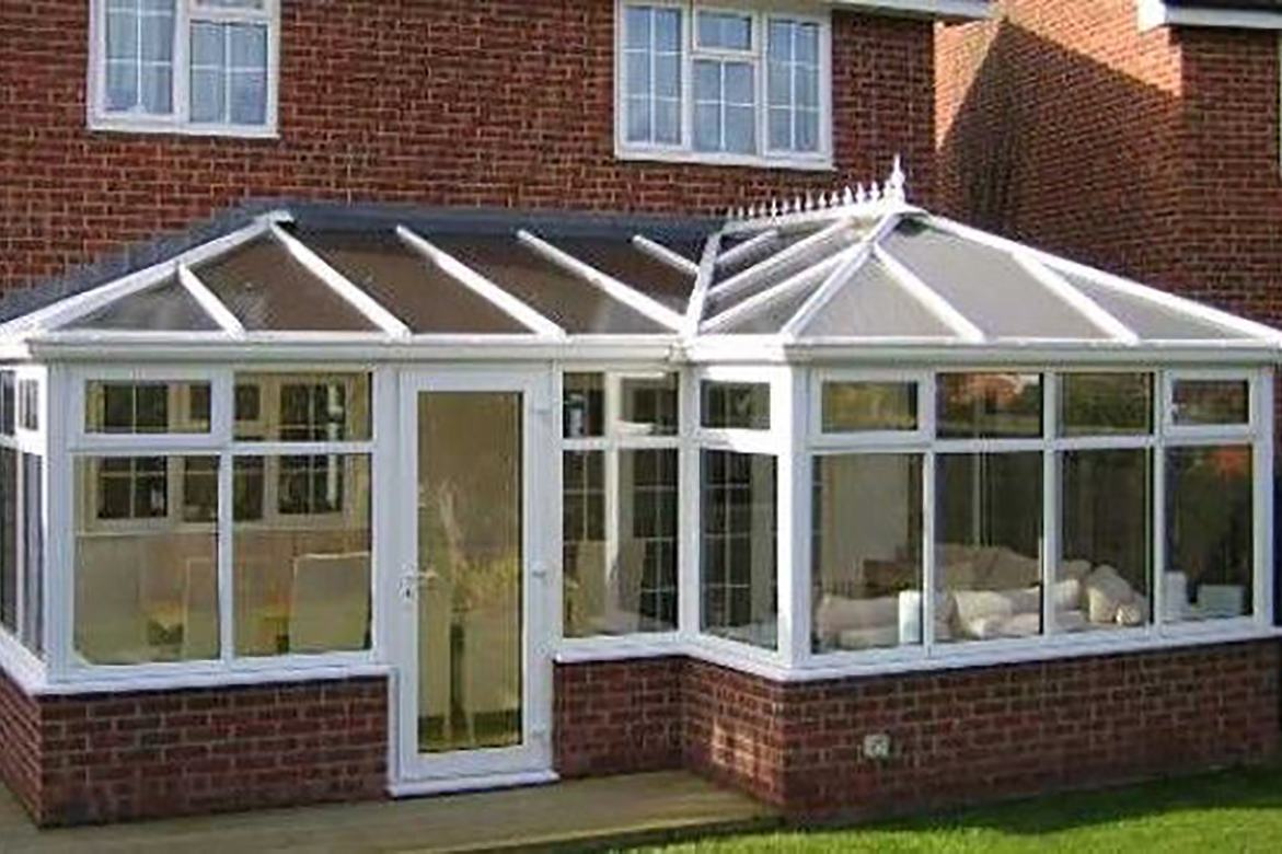 L Shape Conservatory Chesterfield